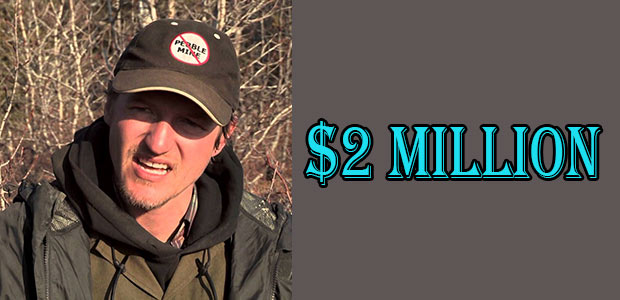 Atz Lee Kilcher's Net Worth is $2 Million
