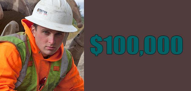 Gold Rush Mitch Blaschke Net worth is $100,000