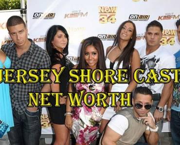 Jersey Shore Cast Net Worth