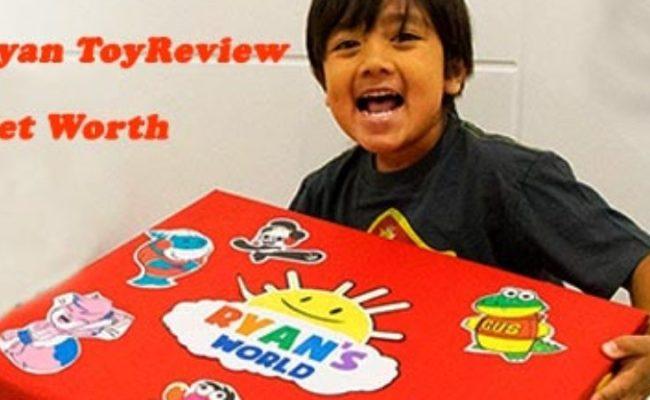 Ryan S Toy Review Net Worth Celebrity Net Worth