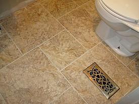 groutable vinyl tile the right choice