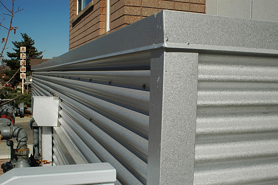 corrugated steel chair rail musical potty aluminum siding networx custom