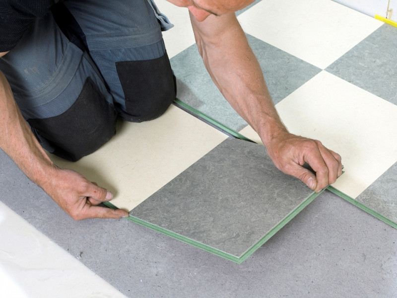 can you tile over linoleum networx