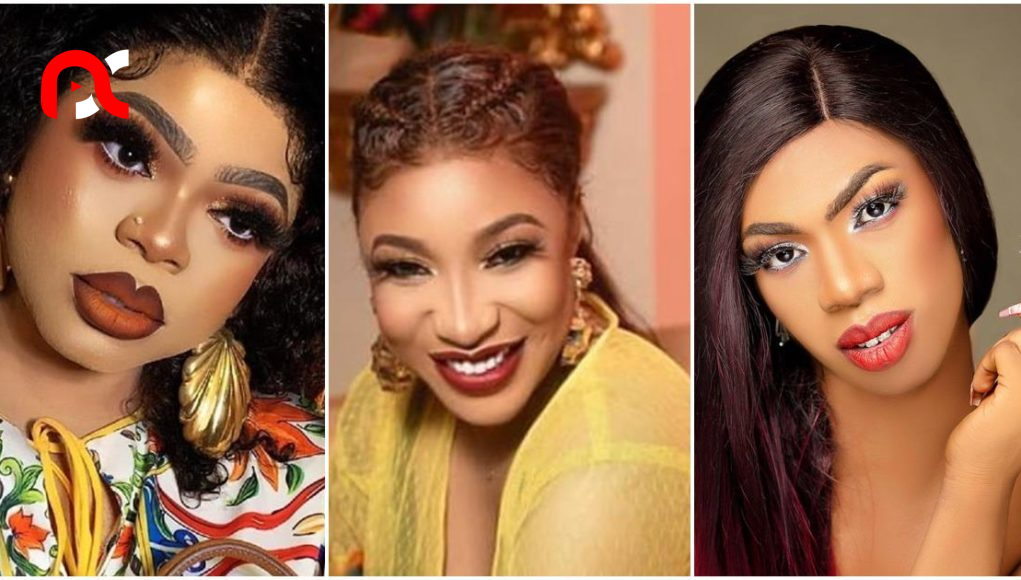 """""""Bob will come for you"""" – Reactions as Tonto dumps Bobrisky for her new friendship with James Brown"""