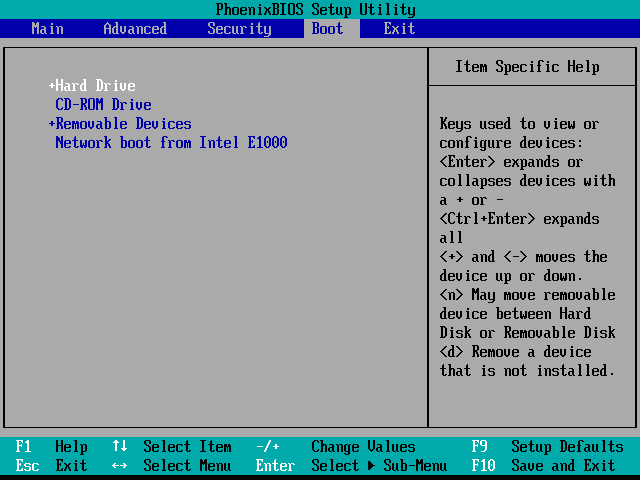 boot-options-hard-drive-first