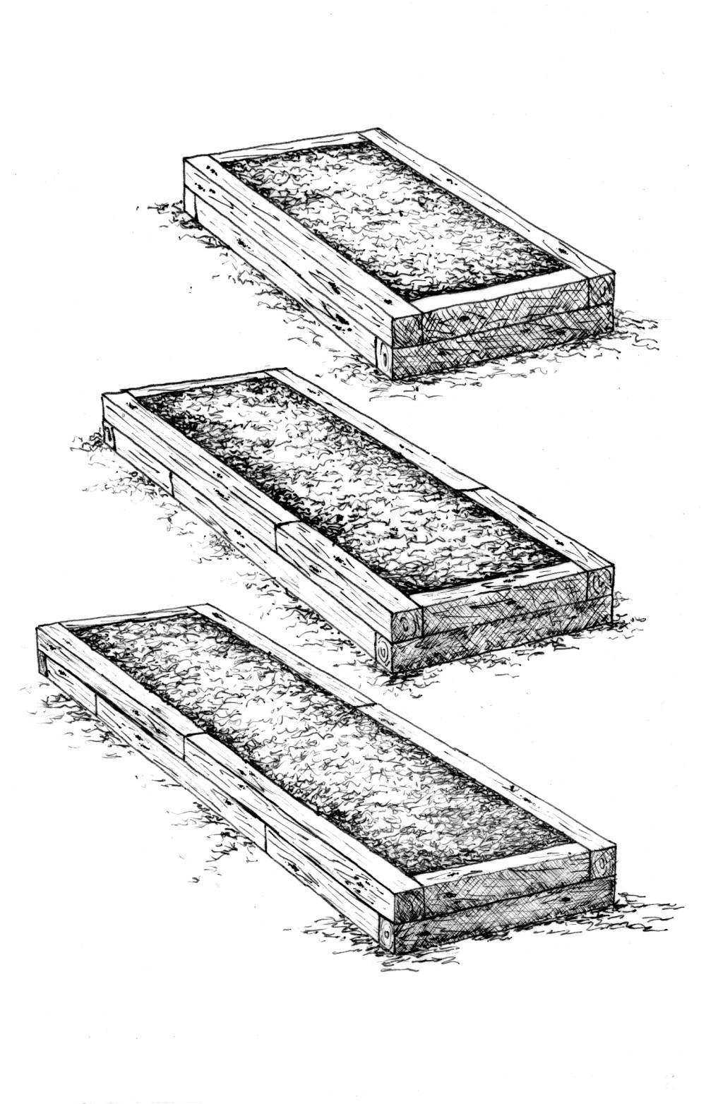 medium resolution of 12 high raised bed 3 lengths