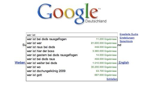 Google Gedichte