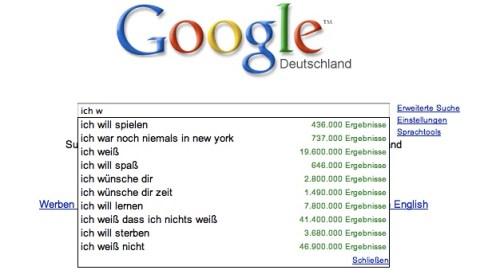 Google dichtet