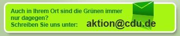 CDU Aktion