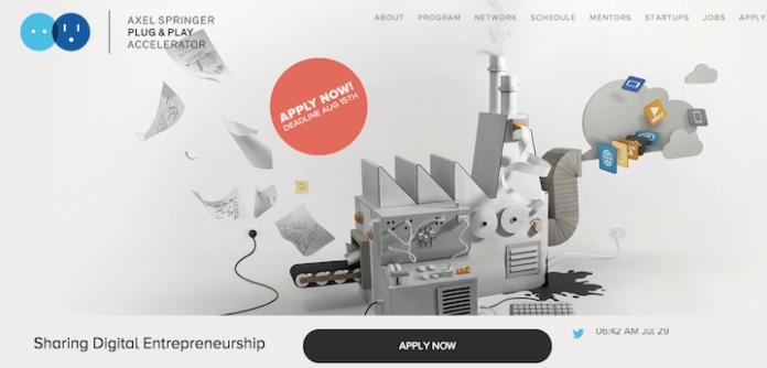 So versucht Axel Springer um neue Start-Ups zu werben