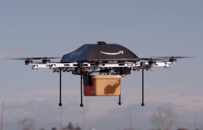 Die Amazon Prime Air Drohne