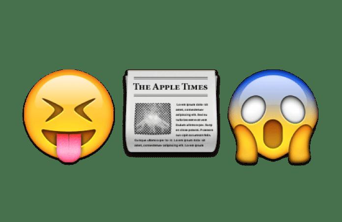Die Schlagzeilen des Tages in Emoji