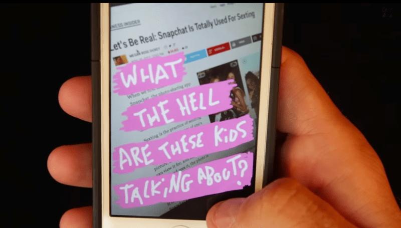 Wie Snapchat funktioniert: Benutzung