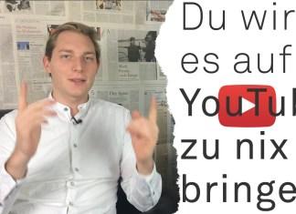 YouTube Karriere