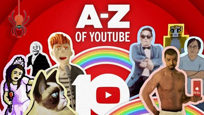 Das YouTube-Alphabet