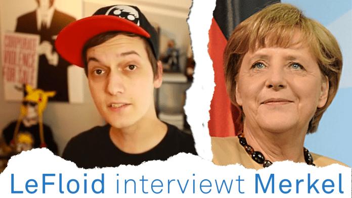LeFloid interviewt Bundeskanzlerin Angela Merkel