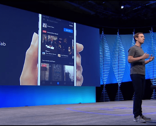 f8 facebook Live Video Tab