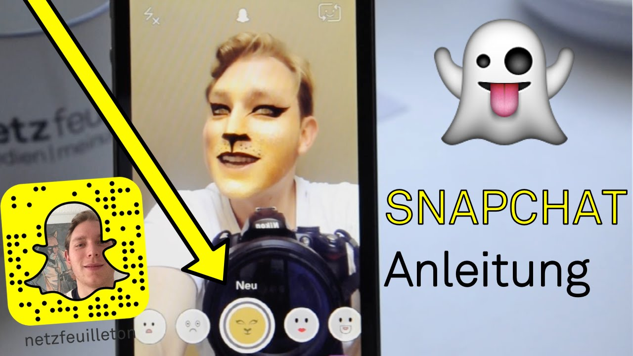 Snapchat Anleitung - Telefon Funktion