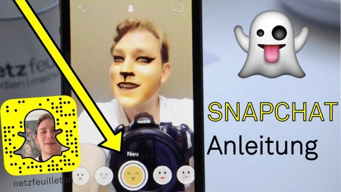 Erste Schritte mit Snapchat – Eine einfach Anleitung