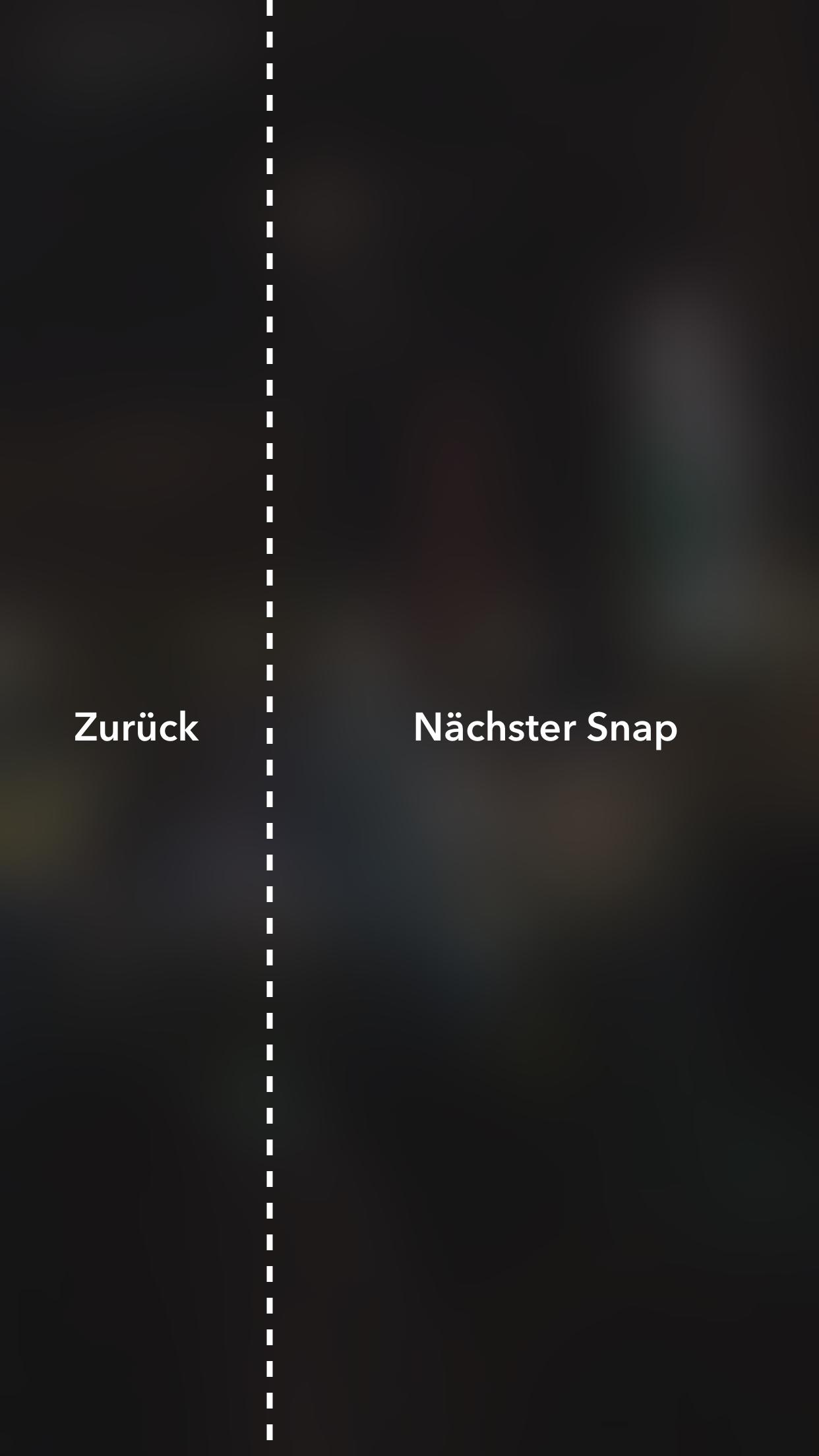 Snapchat Stories teilen