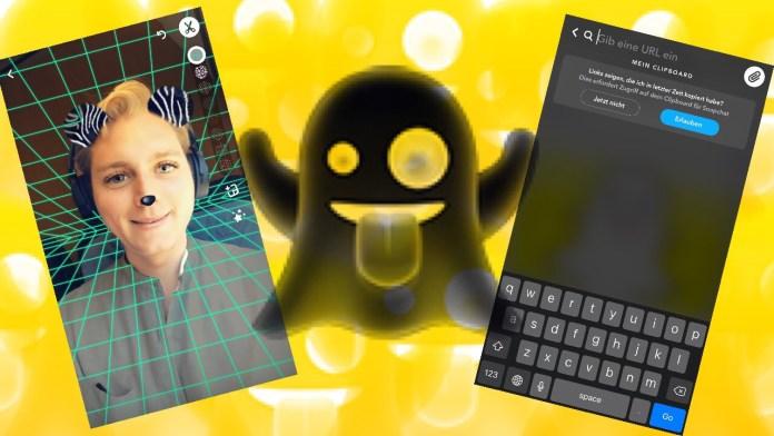 Snapchat erlaubt Links, Hintergründe und Stimmenverzerrung