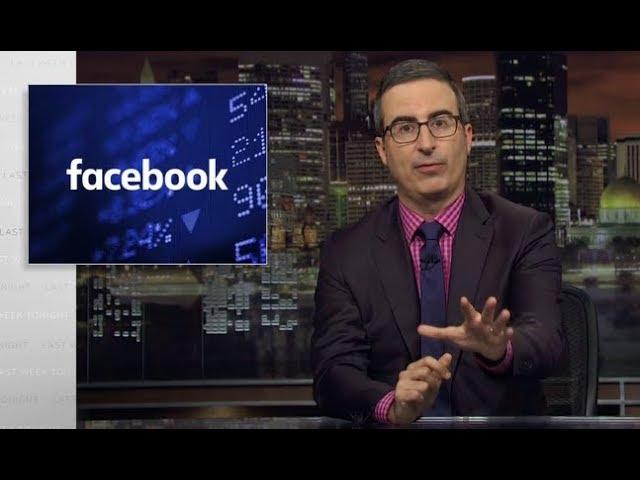 John Olivers ehrlicher Facebook Werbespot