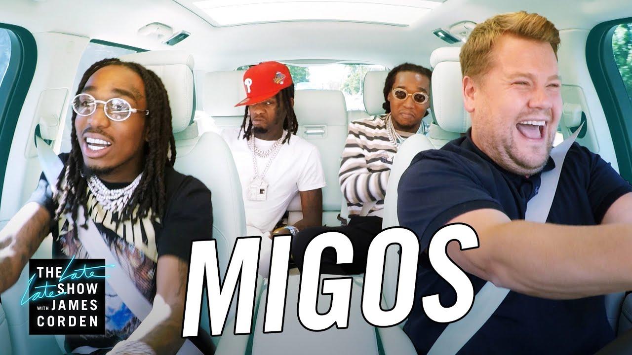 Migos bei Carpool Karaoke