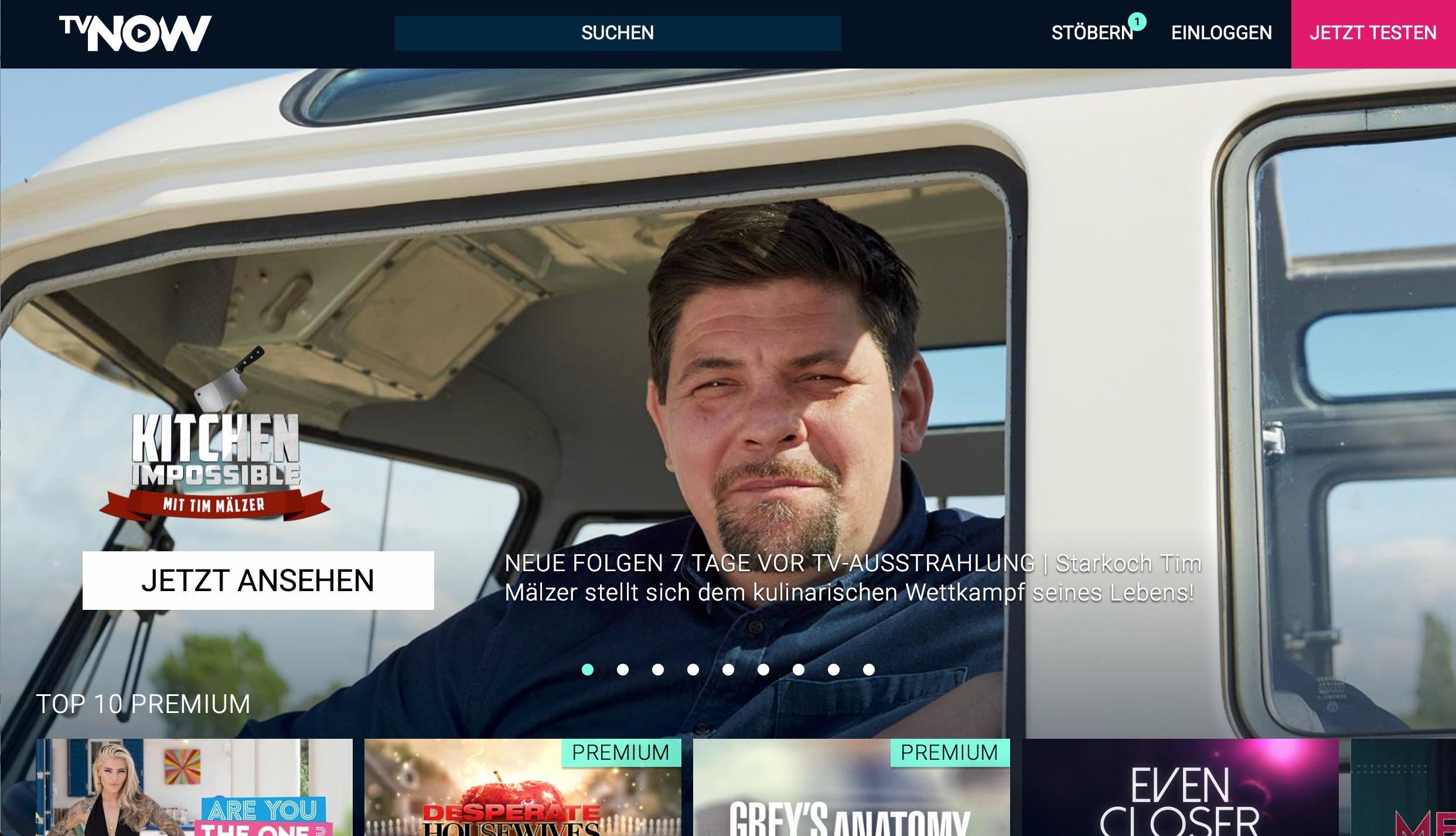 RTL+ soll die TVnow Marke beerben