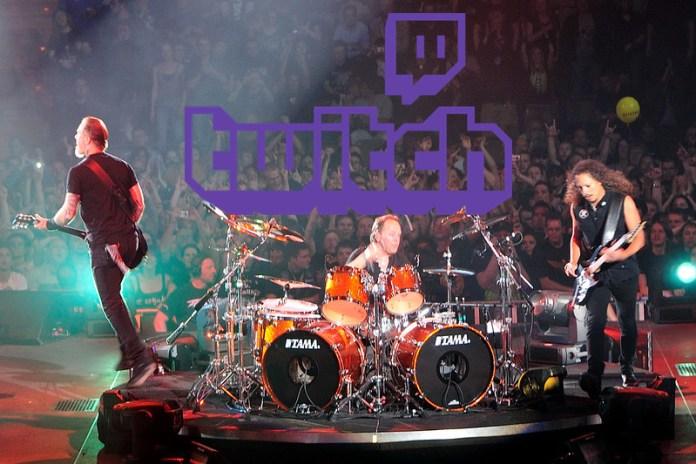 Twitch ersetzt Metallica Live Konzert mit Royalty Free Music. Plinkplonk.