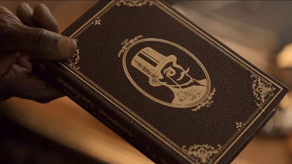 In Netflix Lupin bekommt Asenne das Buch über Lupin den Gentleman Gauner geschenkt