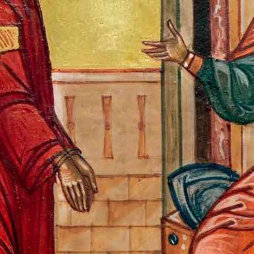 1.März - Jesus sind die Hände gebunden.