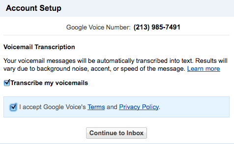 upgrade google voice grandcentral