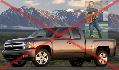 our country chevy silverado nfl john mellencamp ad