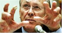 Donald Rumsfeld Hands