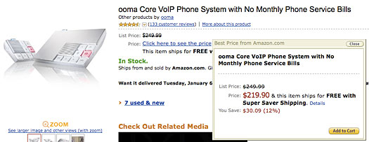 ooma on sale at amazon