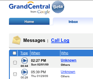 GrandCentral finally to change to google voice