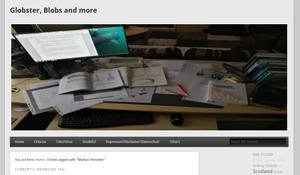 Screenshot von Markus Hemmler's Webseite zum Thema Globster