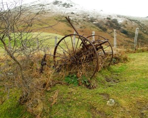 altes landwirtschaftliches Gerät