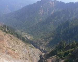 Der Ape Canyon heute