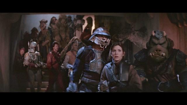 Szene aus Star Wars Episode 6