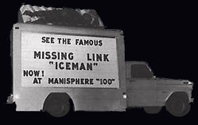 Truck mit Werbung