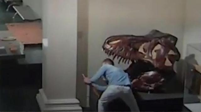 Selfie mit Theropode