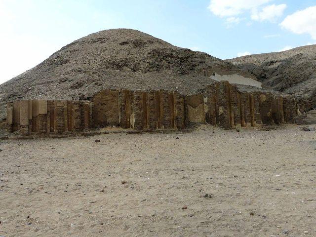 Ruine der Mastaba von Nefermaat