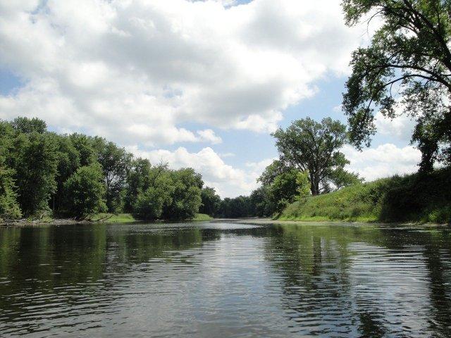 Fluss Wisconsin