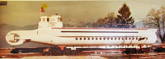 U-Boot Augste Piccard 1964