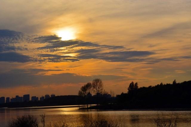 Songhua-Fluss in Harbin