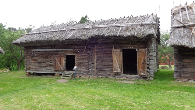 Historisches Haus in Finnland