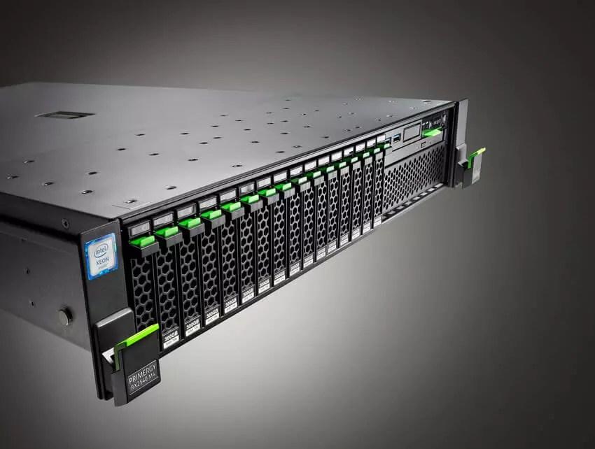 FUJITSU Server PRIMERGY RX2540 Netzwerk GmbH