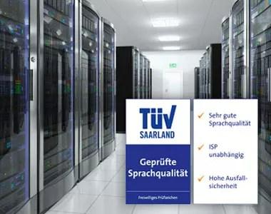 Cloud Telefonanlage mit TÜV bei Netzwerk GmbH in Schweinfurt
