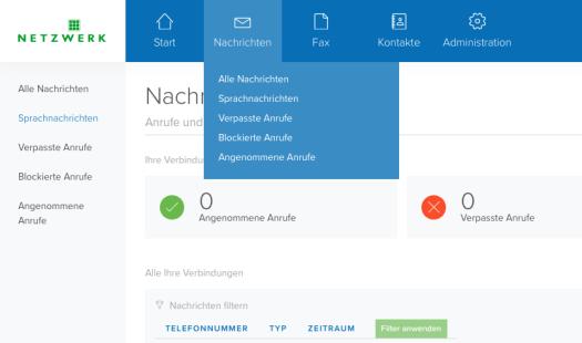 Placetel Cloud Telefonanlage Screenshot Einrichtung Netzwerk
